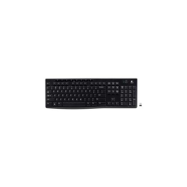 Logitech Wireless Keyboard K270 Black USB