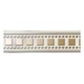 Керамическая плиткаGolden Tile Каррара Фриз 300x30 Белый