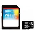 Карты памятиSilicon Power 16 GB microSDHC Class 10 Sky Share + SD adapter SP016GBWSAS10HAK