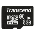 Карты памятиTranscend 8 GB microSDHC class 6 TS8GUSDC6