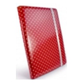 Tuff-luv Slim-Stand для iPad 2/3 Polka-Hot Raspberry (B10_36)