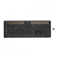 Клавиатуры, мыши, комплекты Helios Trust  Wireless Solar Keyboard Black USB
