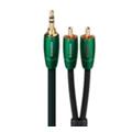 Аудио- и видео кабелиAudioQuest Evergreen (3,5mm-2RCA) 3м