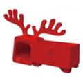 Аксессуары для планшетовOzaki Подставка O!music Zoo Deer Red for iPhone 5 (OM936DB)