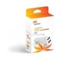 Зарядные устройства для мобильных телефонов и планшетовFlorence 2USB 2100mA, cable iPhone 6/6 Plus white (CC21-IPH6)