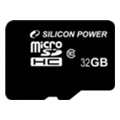 Карты памяти Silicon Power 32 GB microSDHC Class 10