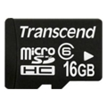 Карты памятиTranscend 16 GB microSDHC class 6 + SD Adapter TS16GUSDHC6