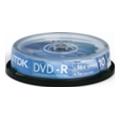 Диски CD, DVD, Blu-rayTDK DVD-R 4,7GB 16x Bulk 10шт