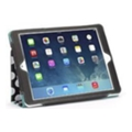 Чехлы и защитные пленки для планшетовGriffin Back Bay Folio for iPad Air Polka Black/White/Turquoise (GB37900)