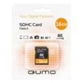 Карты памятиQumo 16 GB SDHC Class 6 QM16GSDHC6