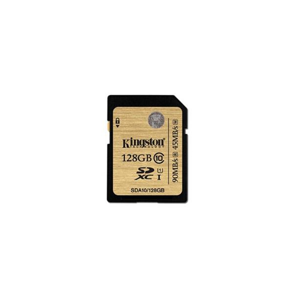 Kingston 128 GB SDXC Class 10 UHS-I Ultimate SDA10/128GB