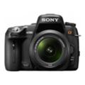 Цифровые фотоаппаратыSony Alpha DSLR-A580L 18-55 Kit