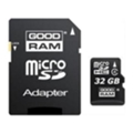Карты памяти GoodRAM 32 GB microSDHC class 4 + SD Adapter M40A-0320R11
