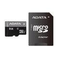 Карты памятиA-data 8 GB microSDHC UHS-I + SD adapter Premier AUSDH8GUICL10-RA1