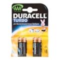 Аккумуляторы, батарейкиDuracell AAA bat Alkaline 4шт Turbo 81417115