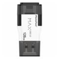USB flash-накопителиPhotoFast 128 GB i-Flashdrive MAX Gen2 USB 3.0/Lightning White (IFDMAXG2128GB)