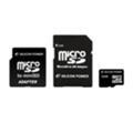 Карты памятиSilicon Power 16 GB microSDHC Class 4 + 2 adapters