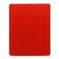 Чехлы и защитные пленки для планшетовMelkco Slimme Cover Type для iPad 2/3 Red (APNIPALCSC1RDLC)