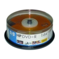 HP DVD+R 4,7GB 16x Cake Box 25шт