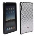Чехлы и защитные пленки для планшетовSpeck Fitted для iPad бело-серо-розовый