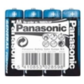 Panasonic AA bat Carbon-Zinc 4шт General Purpose (R6BER/4P)