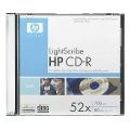 HP CD-R LightScribe 700MB 52x Slim Case 1шт