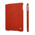 Jisoncase Vintage Smart Case for iPad Air Red JS-ID5-01A30