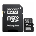 Карты памяти GoodRAM 16 GB microSDHC class 4 + SD Adapter M40A-0160R11