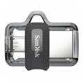 USB flash-накопителиSanDisk 64 GB USB Ultra Dual OTG USB 3.0 Black (SDDD3-064G-G46)