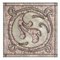 Керамическая плиткаКерамин Декор Раполано 98x98