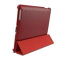 Чехлы и защитные пленки для планшетовSGP Leather Case Griff Series iPad 2 Dante Red (07700)
