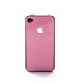 Защитные пленки для мобильных телефоновCrystal EGGO iPhone 4 cover pink BackSide