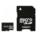 Карты памятиExceleram 16 GB microSDHC class 10 + SD Adapter MSD1610A