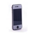 Защитные пленки для мобильных телефоновCrystal EGGO iPhone 4 cover silver BackSide