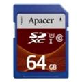Карты памятиApacer 64 GB SDXC Class 10 UHS-I AP64GSDXC10U1-R