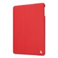Чехлы и защитные пленки для планшетовJisoncase Ultra-Thin Smart Case for iPad Air Red JS-ID5-09T30