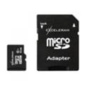 Карты памятиExceleram 8 GB microSDHC class 10 + SD Adapter MSD0810A