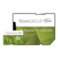 Карты памяти TEAM 16 GB microSDHC UHS-I + SD Adapter TCUSDH16GUHS43