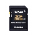 Карты памятиToshiba 32 GB SDHC Class 4 SD-K32GJ