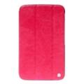 Чехлы и защитные пленки для планшетовHoco Crystal folder protective case for Galaxy Tab 3 8.0 (rose red) HS-L060RS