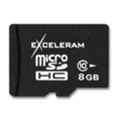 Карты памятиExceleram 8 GB microSDHC class 10 MSD0810