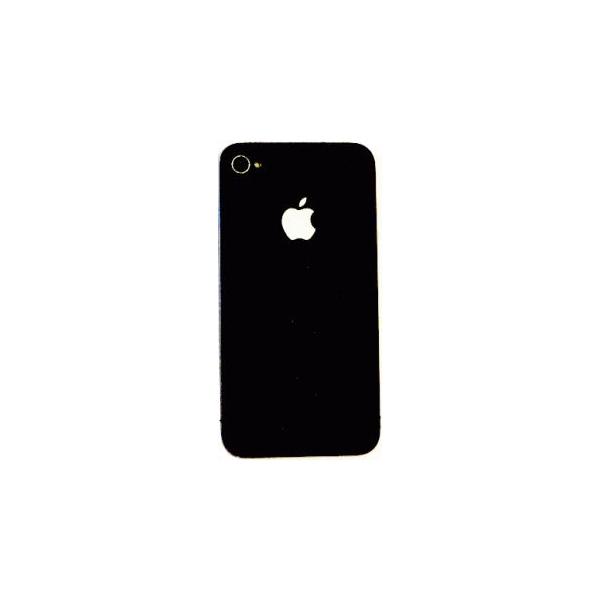 Crystal EGGO iPhone 4 cover black BackSide