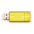 USB flash-накопителиVerbatim 16 GB Store 'n' Go PinStripe Yellow 49066