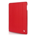Jisoncase Ultra-Thin Smart Case for iPad 2/3/4 Red JS-IPD-07I30