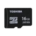 Карты памятиToshiba 16 GB microSDHC class 10 UHS-I SD-CX016HD