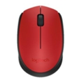 Logitech M171 Wireless Mouse Red-Black USB