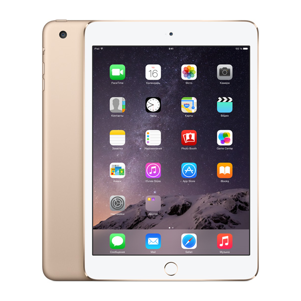 Apple iPad mini 3 Wi-Fi + 4G 128 GB Silver