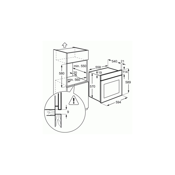 Electrolux OEF5E50X