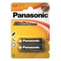 Аккумуляторы, батарейки Panasonic AA bat Alkaline 2шт Alkaline Power (LR6REB/2BP)