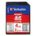 Карты памятиVerbatim 4 GB SDHC class 10 (43960)